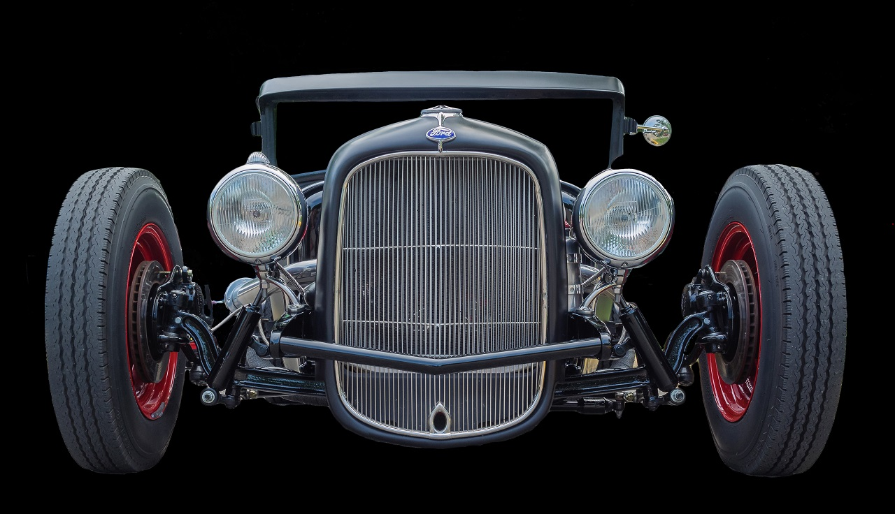 Auto Show Car In Black - Bob Muschewske