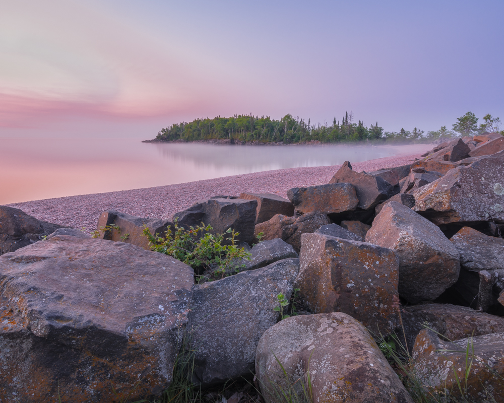 Dawn Along Lake Superior - Color Print - Cindy Carlsson