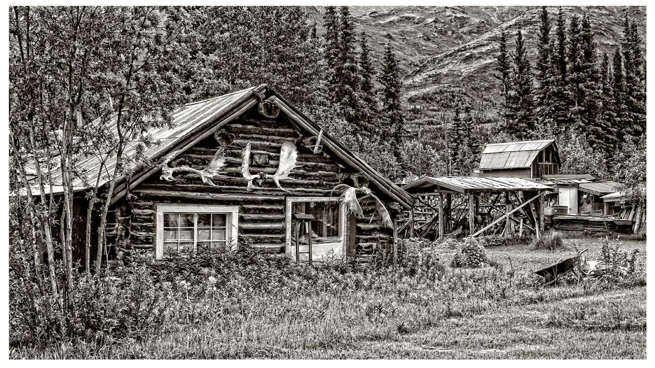 Wiseman Alaska - Monochrome Print - Name Withheld Per Request