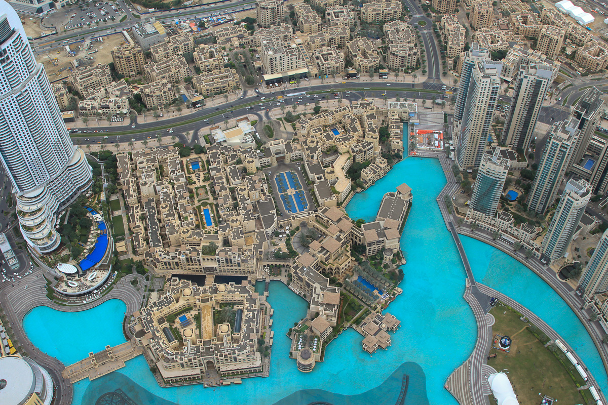 Dubai - Looking Down From Tallest Building in the World - Digital(From Above) - Name Withheld Per Request