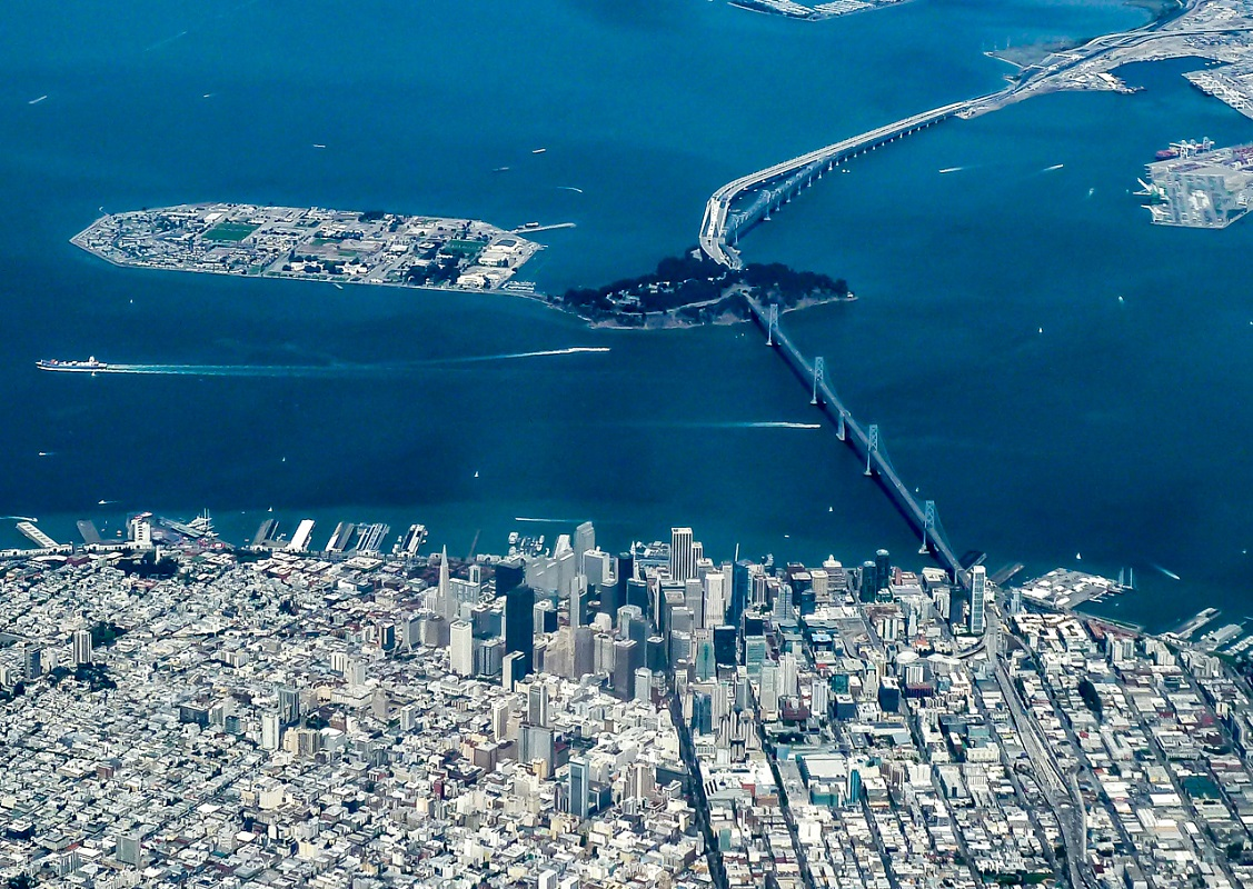 San Francisco from the Air - Digital(From Above) - Name Withheld Per Request