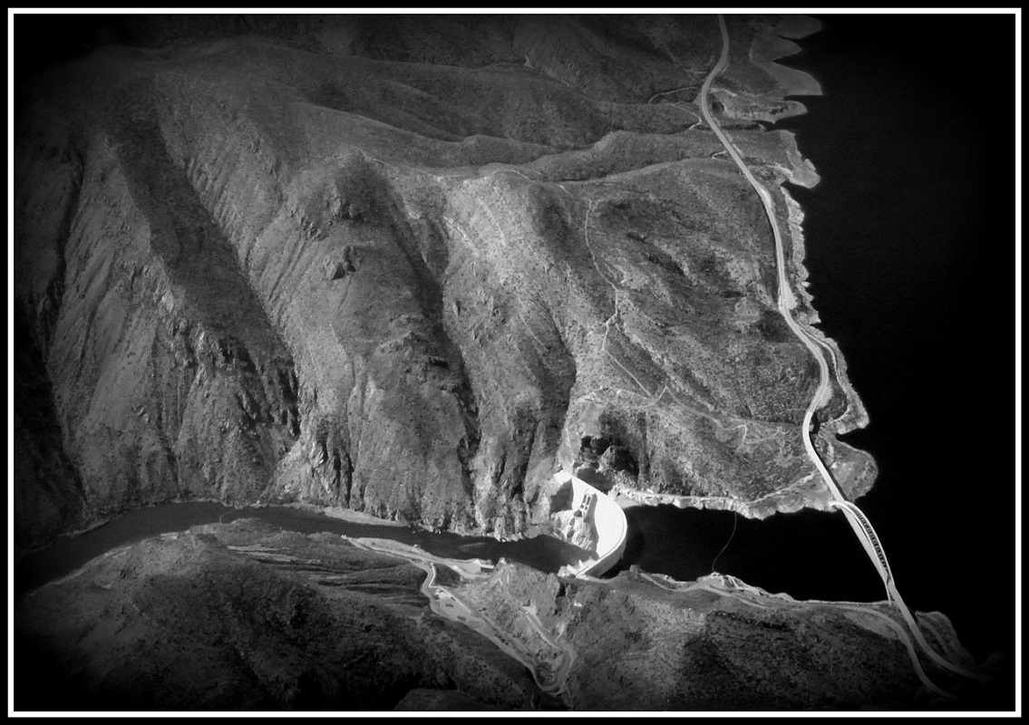 Theodore Roosevelt Dam - Digital(From Above) - Name Withheld Per Request