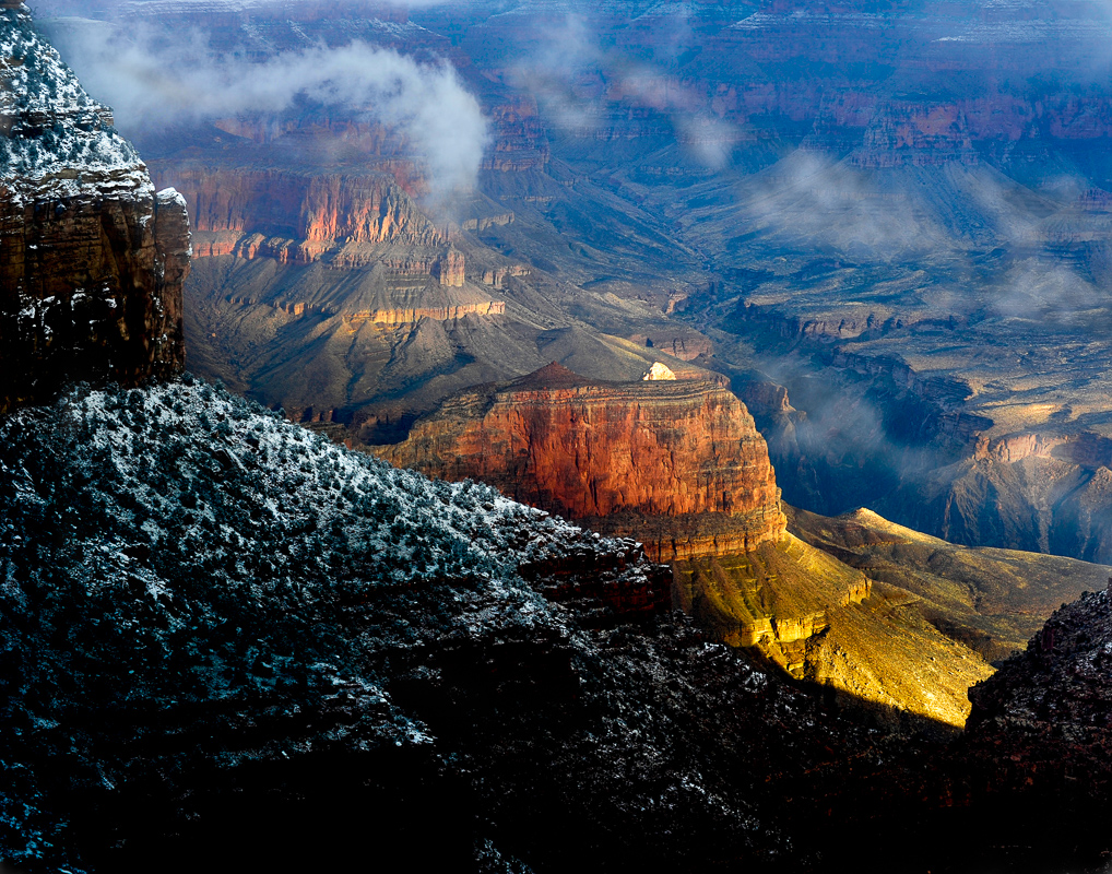 Morning on the South Rim - Digital(From Above) - Name Withheld Per Request