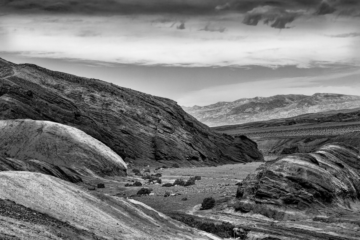 Desolation Death Valley CA - Monochrome Print - Name Withheld Per Request