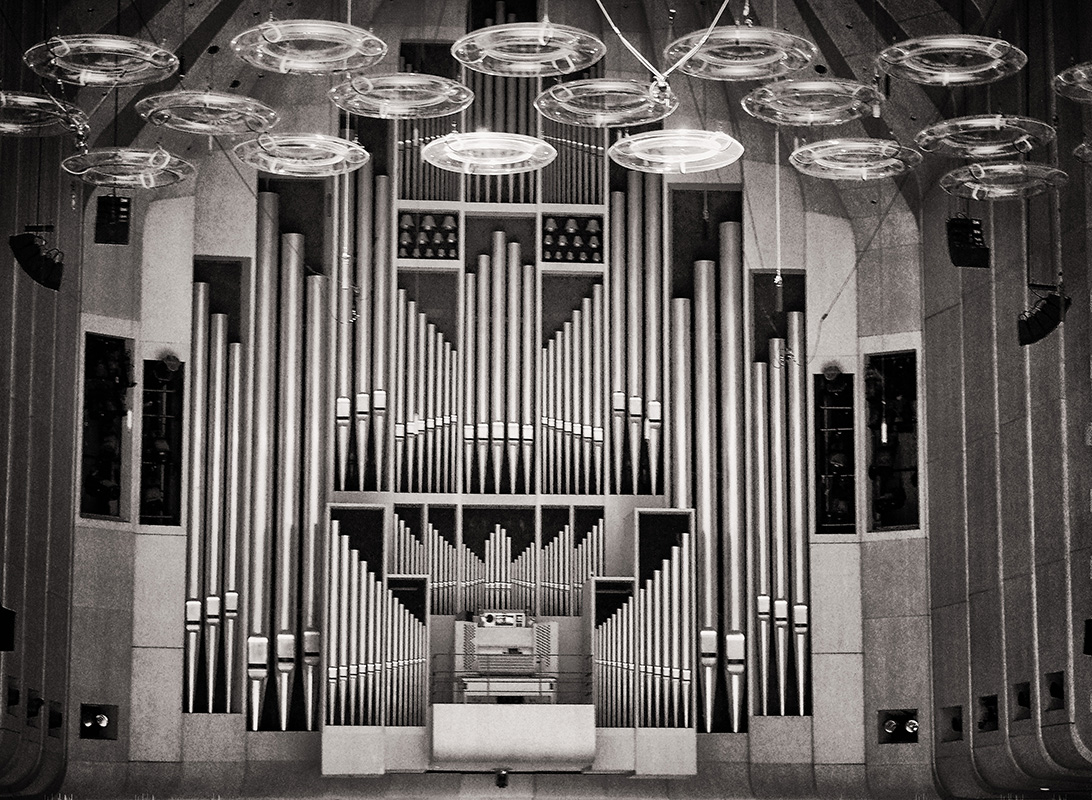 Organ - Monochrome Print - Name Withheld Per Request