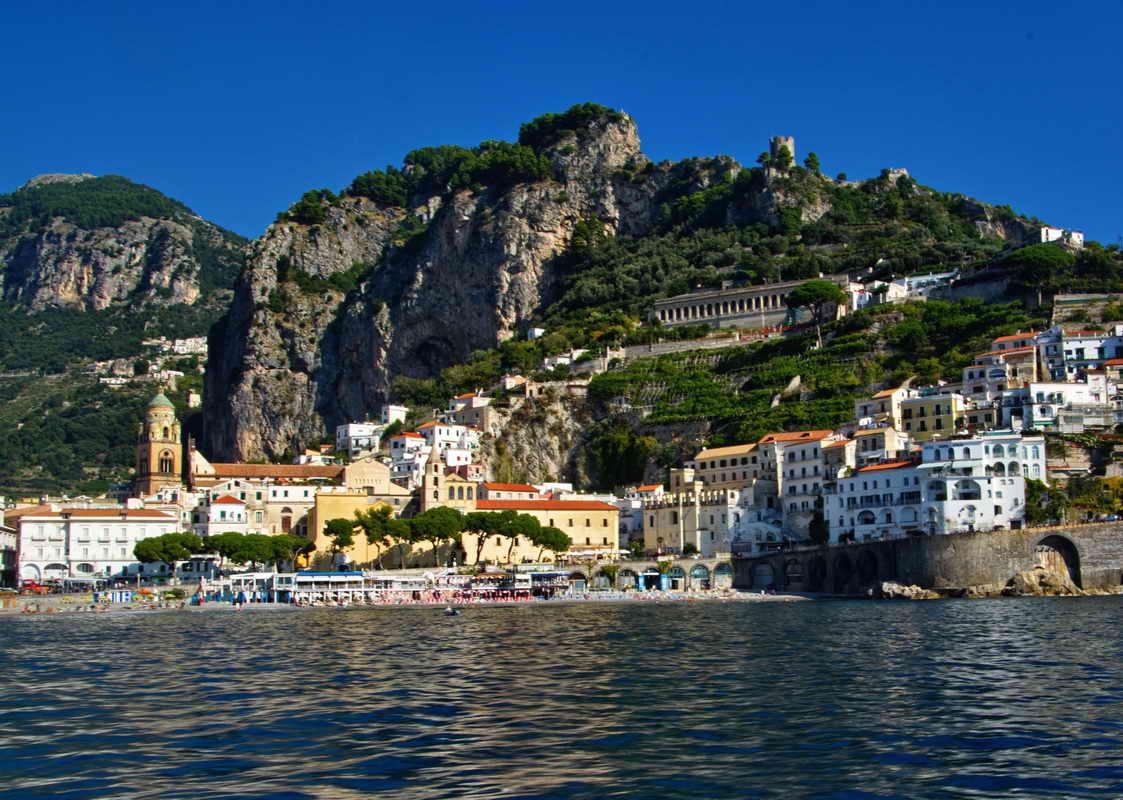 Amalfi-Coast - Digital(Realistic) - Name Withheld Per Request