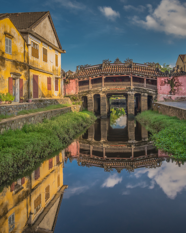Anchient Japanese Bridge Hoi An Vietnam - Digital(Realistic) - Cindy Carlsson