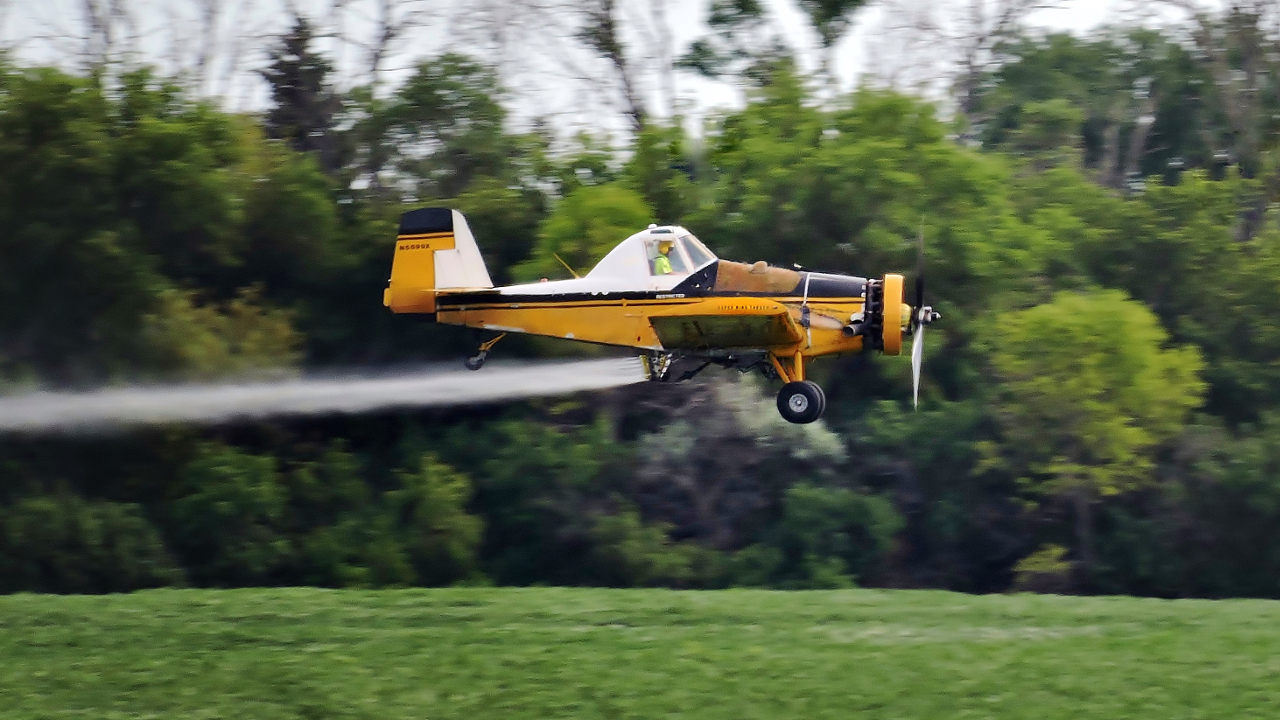 Crop Spraying - Digital(Realistic) - Name Withheld Per Request