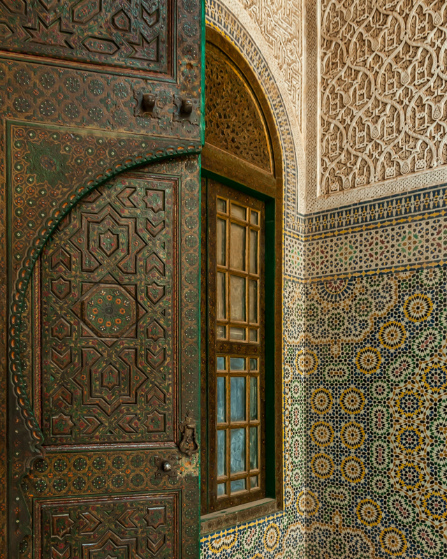 Inside an Ancient Palace Morocco - Color Print - Cindy Carlsson