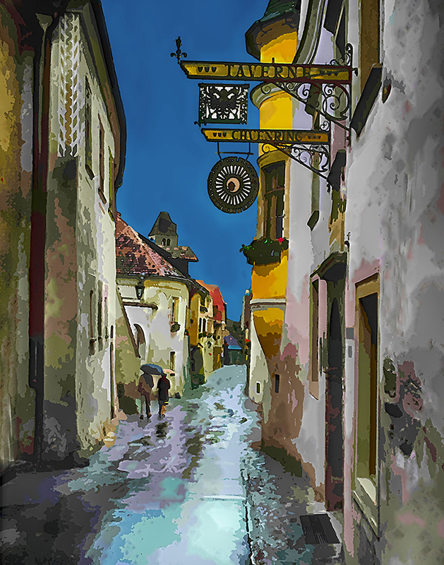 Viennese Evening - Color Print - Larry Syverud