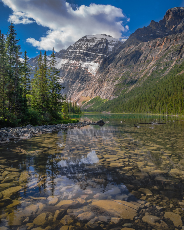 Around Mount Edith Cavell in Jasper NP, Canada - Color Print - Cindy Carlsson