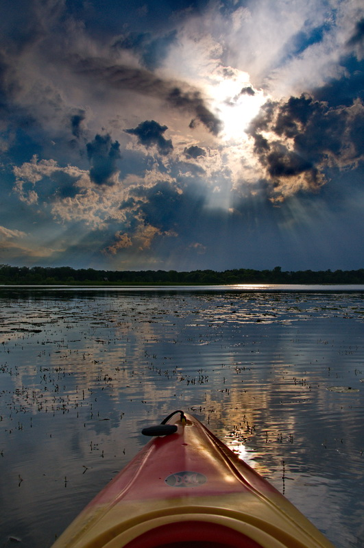 Sunset Kayak - Digital(Open) - Name Withheld Per Request