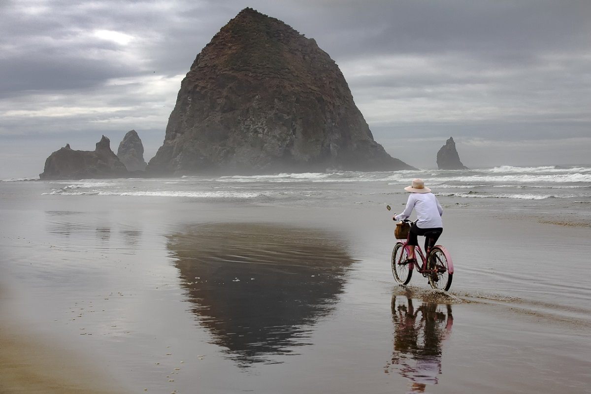 Beach Cyclist - Digital(Open) - Name Withheld Per Request