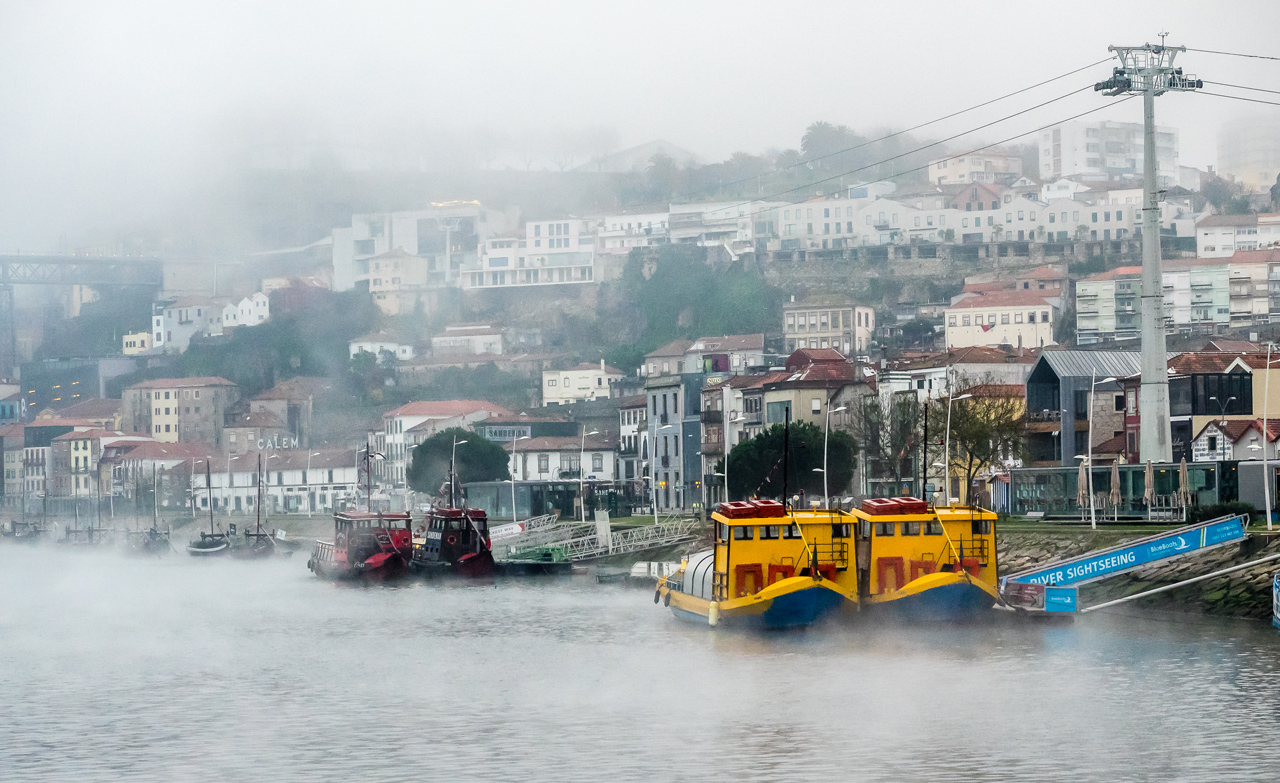 Morning Mist on the Douro River - Color Print - Bob Muscherske