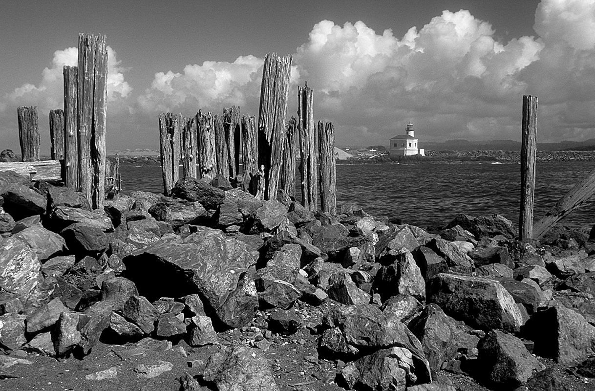 Bandon Light House - Digital(Monochrome) - Name Withheld Per Request