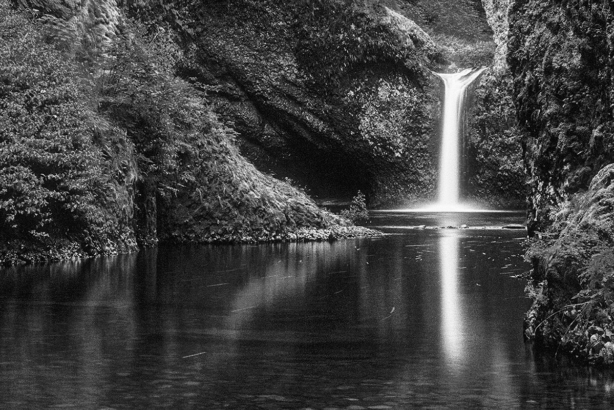 Oregon Punch Bowl3 - Digital(Monochrome) - Name Withheld Per Request