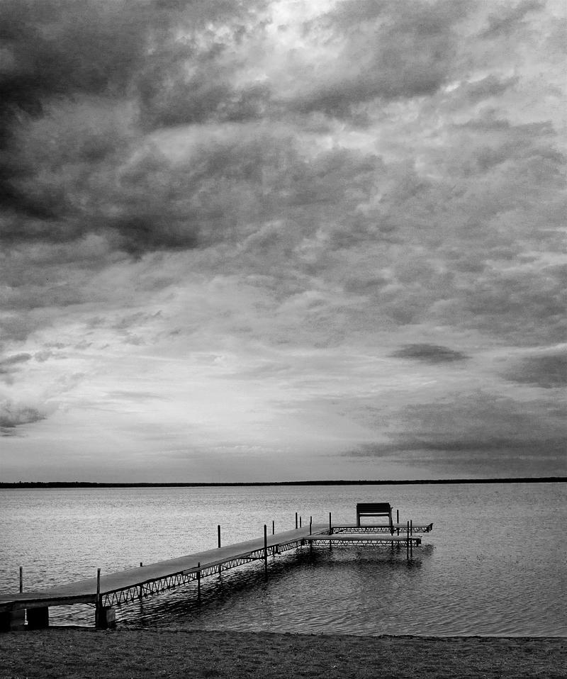 Lake Vivew - Monochrome Print - Name Withheld Per Request