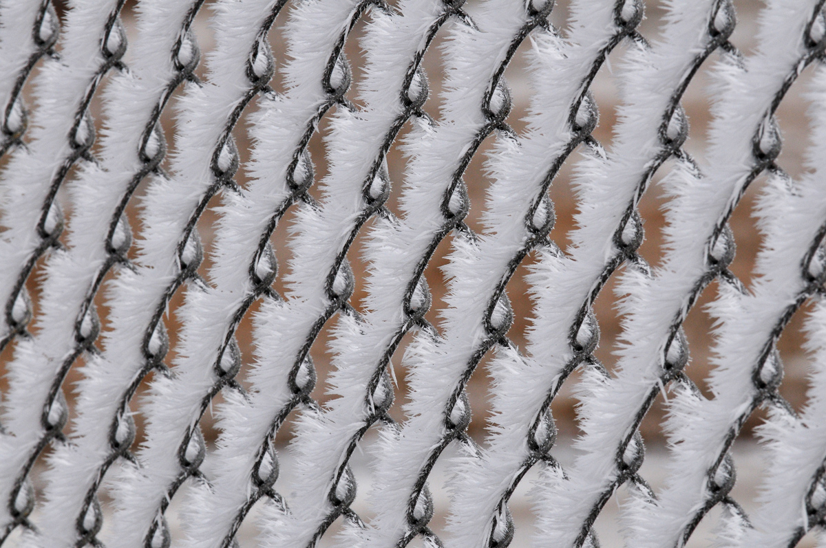Hoar Frost on Fence - Digital(Patterns) - Name Withheld Per Request