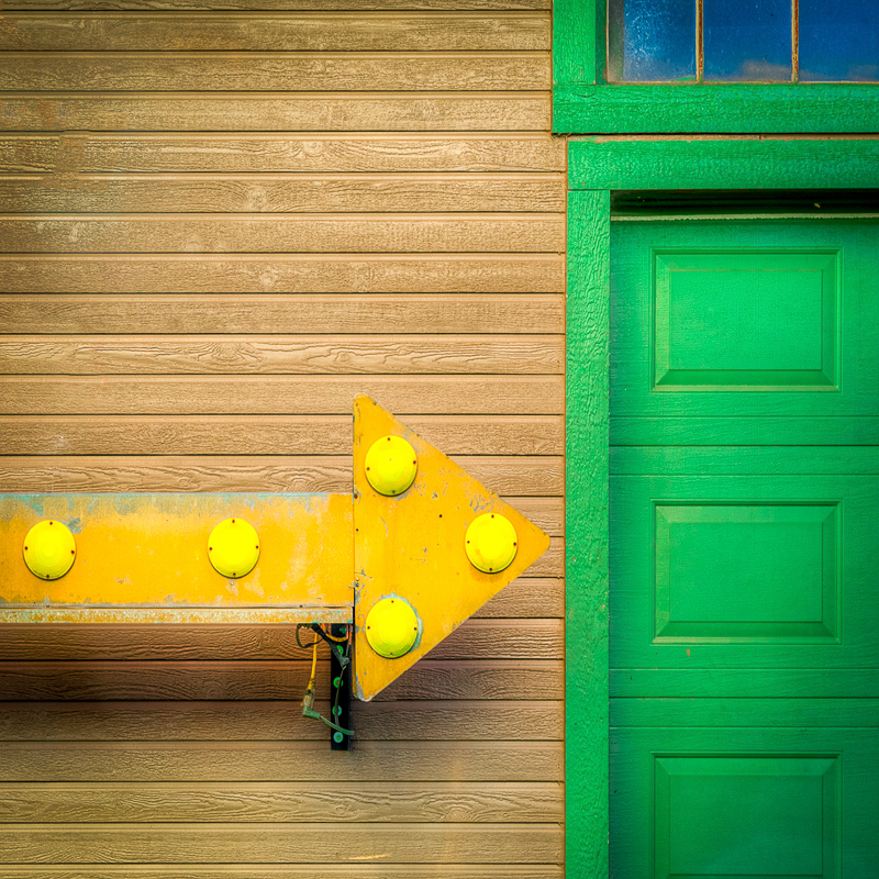 Green Door What's That Secret You're Keeping? - Color Print - Name Withheld Per Request