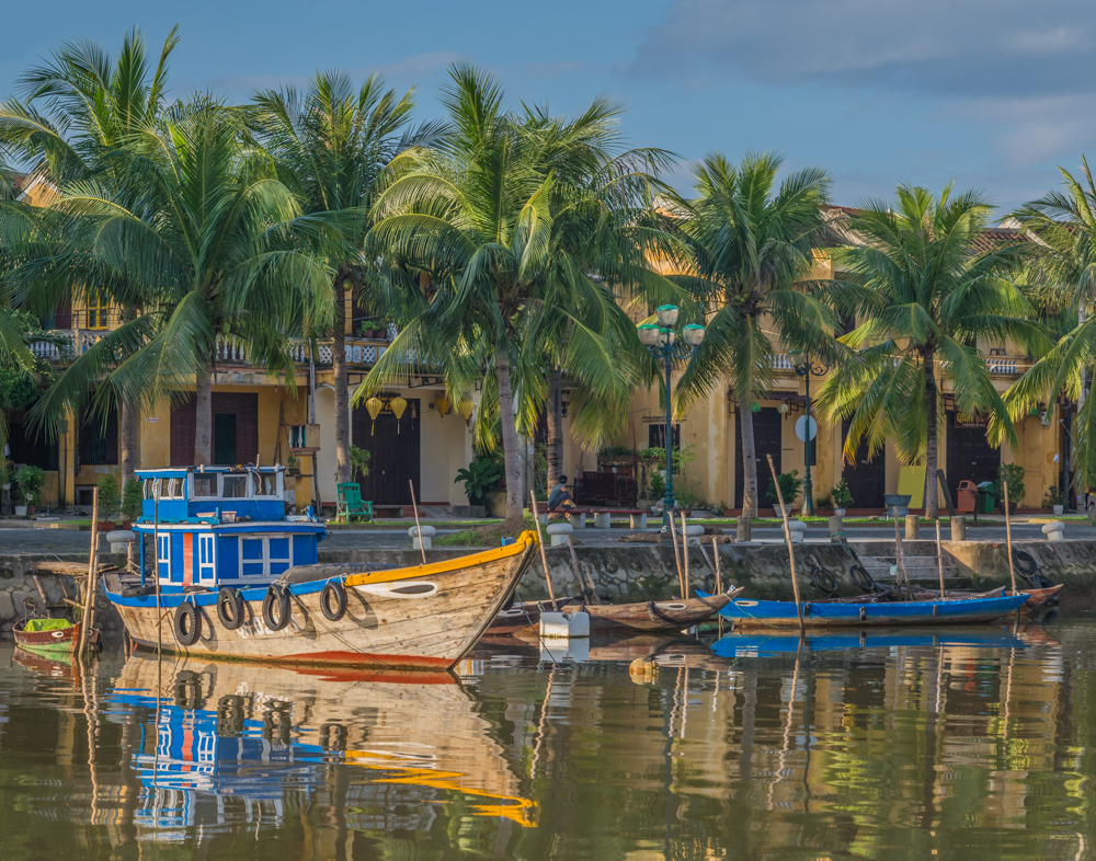 Morning Along the River in Hoi Ann - Color Print - Cindy Carlsson