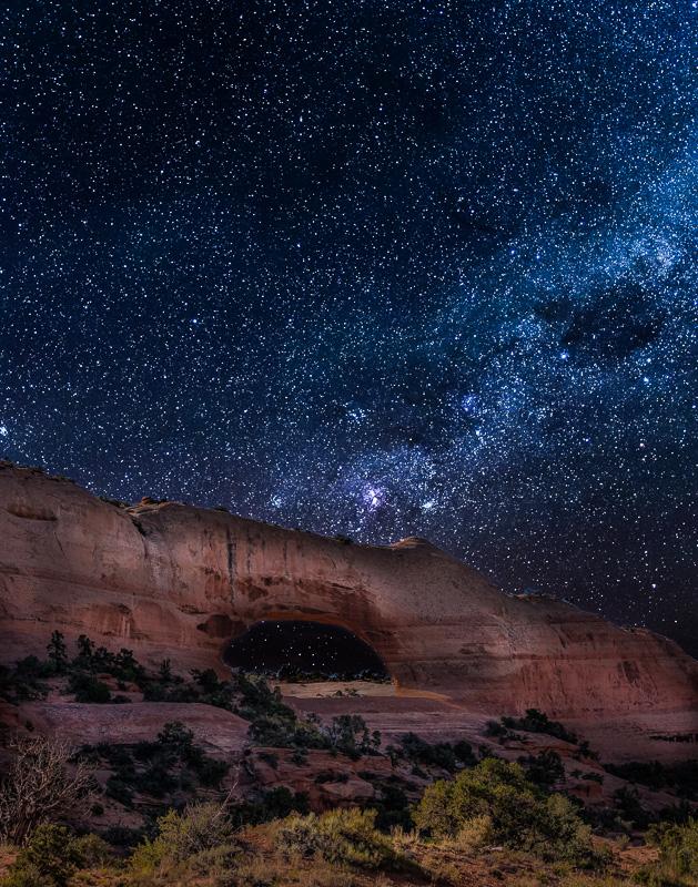 Nightfall - Canyonlands Utah - Color Print - Joe Schufman