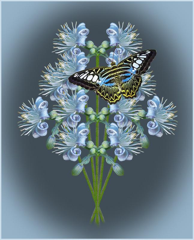 Mrs. Robert B Bouquet - Color Print - Peggy Boike