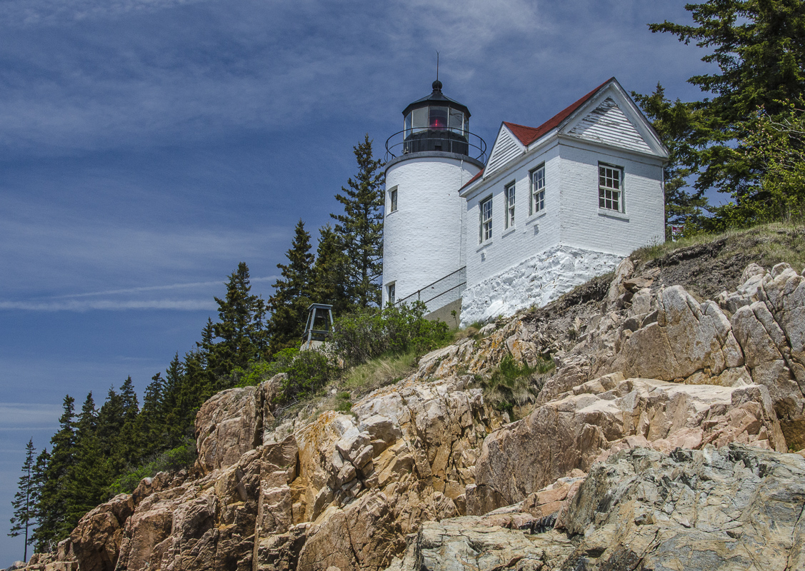 Bass Harbor Light in Maine - Digital (Phototravel) - Name Withheld Per Request