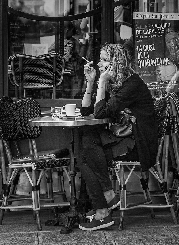Everybody Smokes in Paris - Digital (Photojournalism) - Name Withheld Per Request