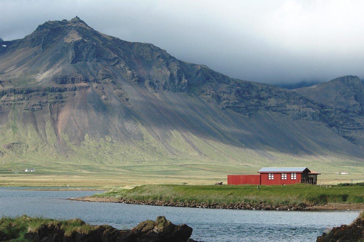 Icelandic Farmstead - Digital (Phototravel) - Name Withheld Per Request