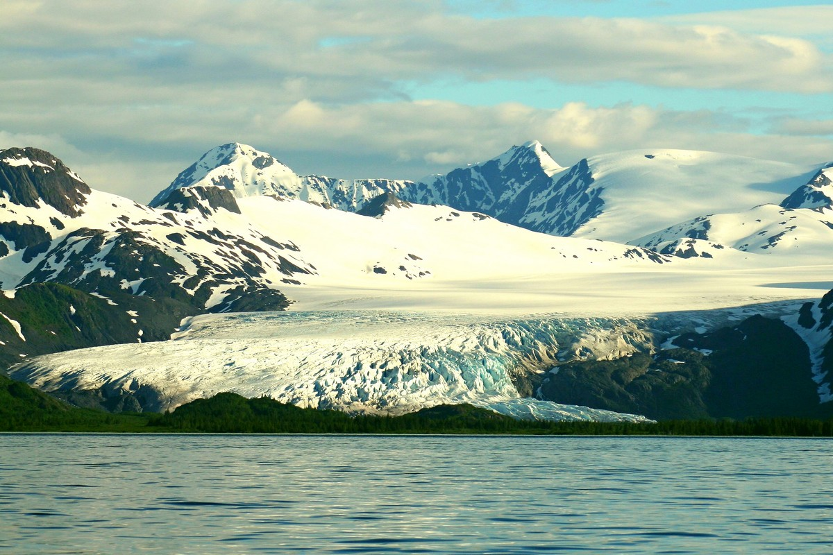 Large Glacier Run in Prince William Sound, Alaska - Digital (Phototravel) - Name Withheld Per Request