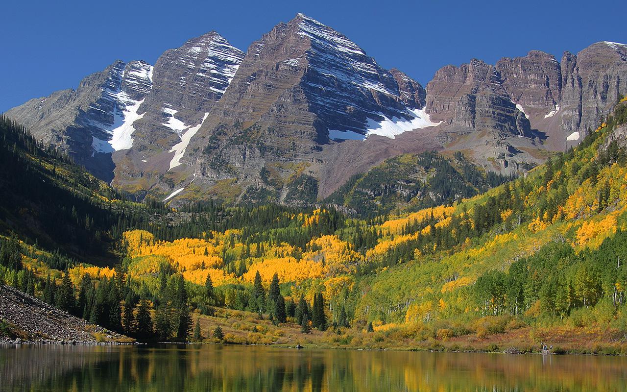 Maroon Bells, Colorado - Digital (Phototravel) - Pat Schwope