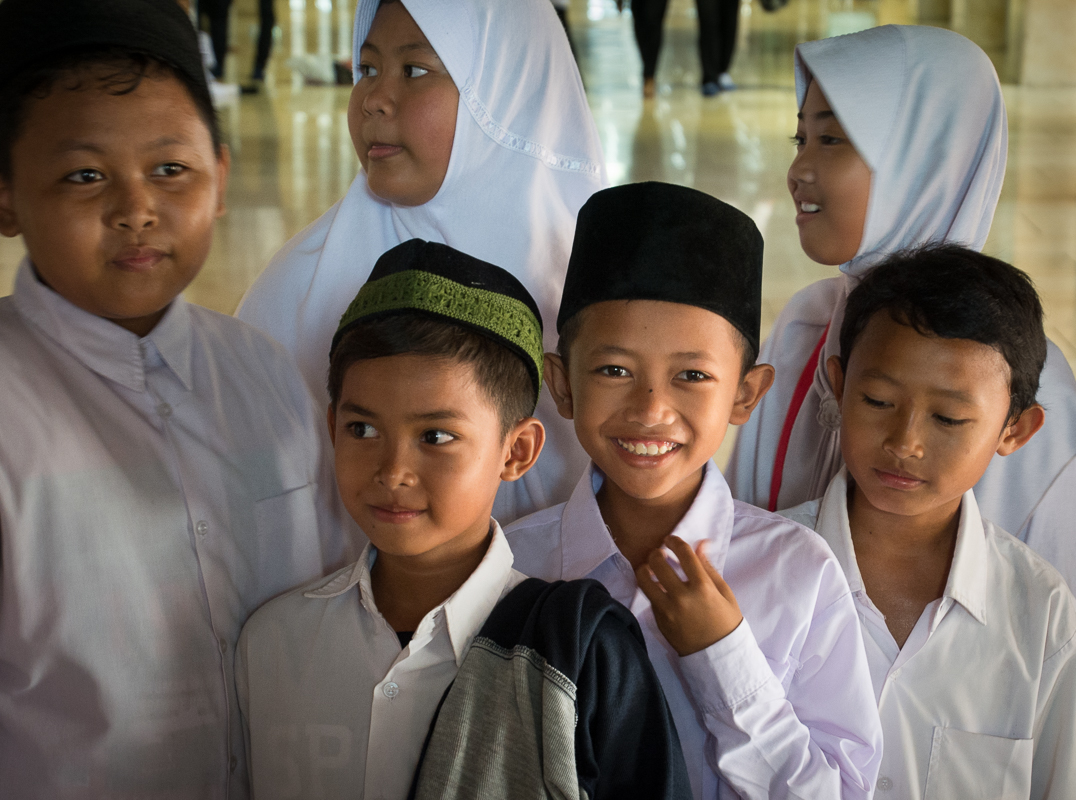 No - Look Here!, Istiqlal Mosque - Digital (Photojournalism) - Name Withheld Per Request