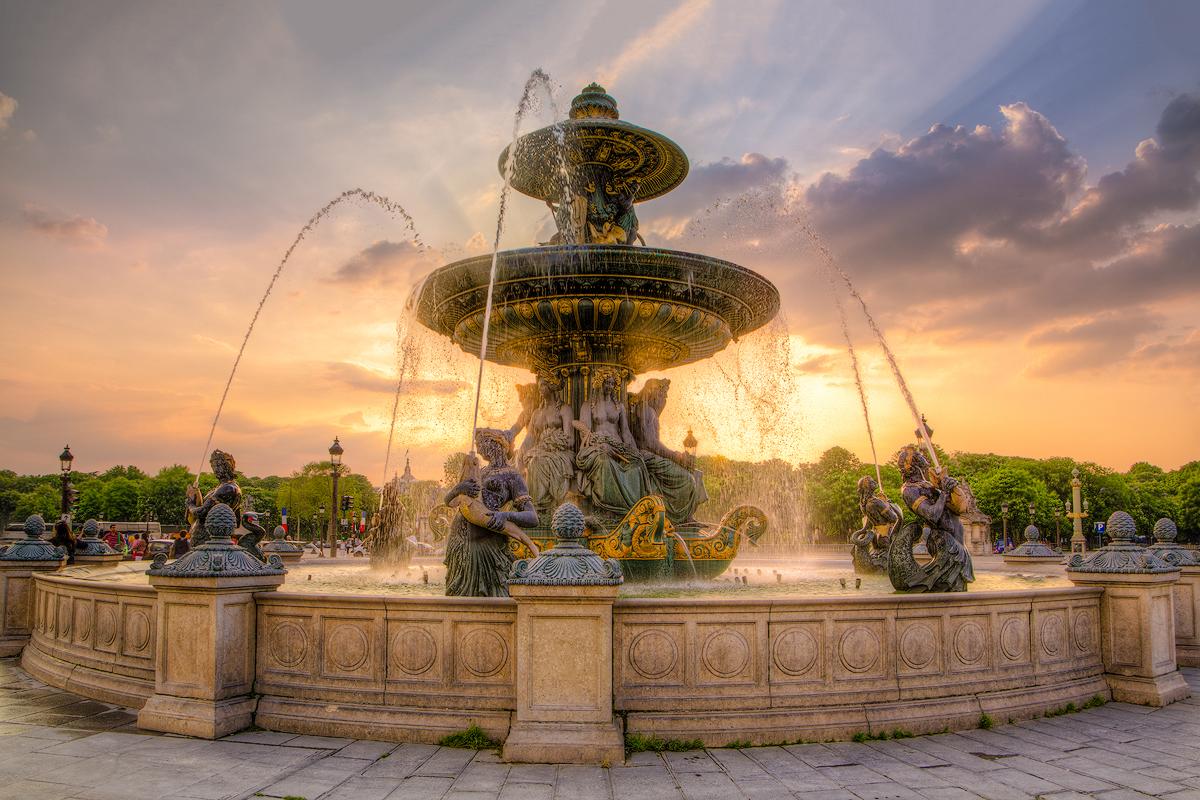 Place de la Concorde Paris - Digital (Phototravel) - Name Withheld Per Request