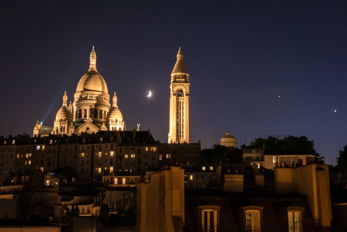 Sacre Coure, Paris - Digital (Phototravel) - Steve Simmer