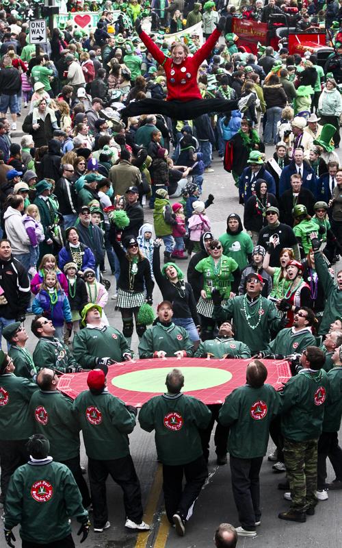 St. Patrick's Day Parade, St Paul - Digital (Photojournalism) - Joe Schufman