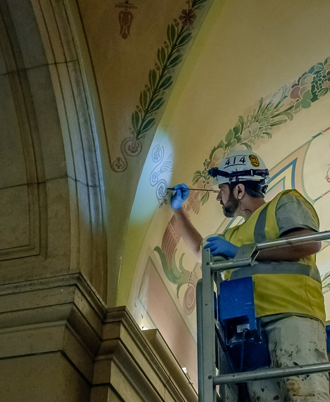 State Capitol Restoration - Digital (Photojournalism) - Name Withheld Per Request
