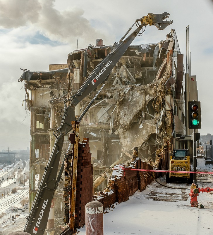 West Publishing Demolition - Digital (Photojournalism) - Name Withheld Per Request