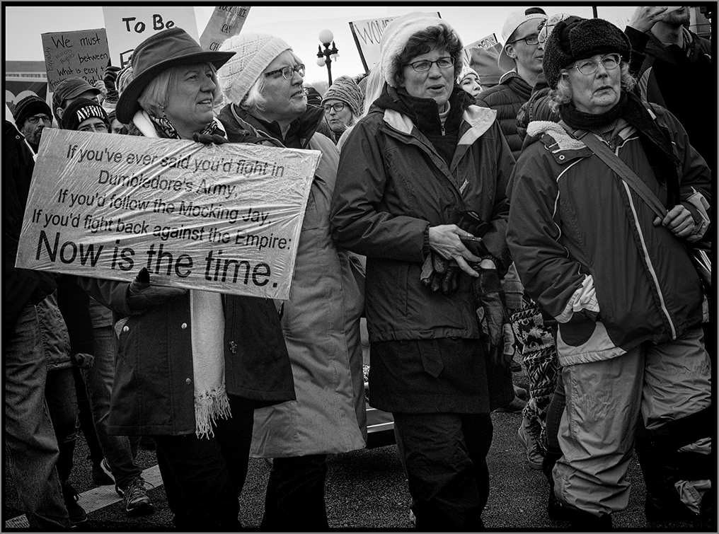 Women's March - Now is the Time - Digital (Photojournalism) - Name Withheld Per Request