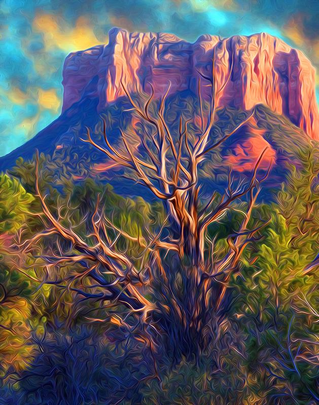 Sedona, Arizona - Color Print - Larry Syverud