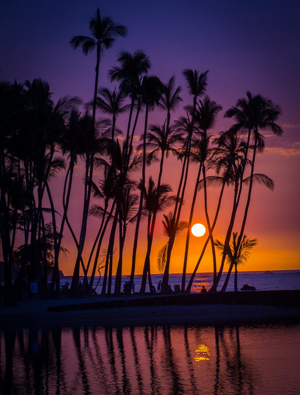 Ana-eho Omalu Beach - Digital(Silhouette) - Name Withheld Per Request