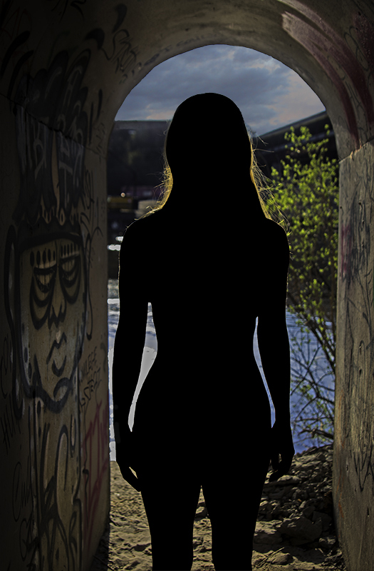 Woman Gazing - Digital(Silhouette) - Bill Wesen