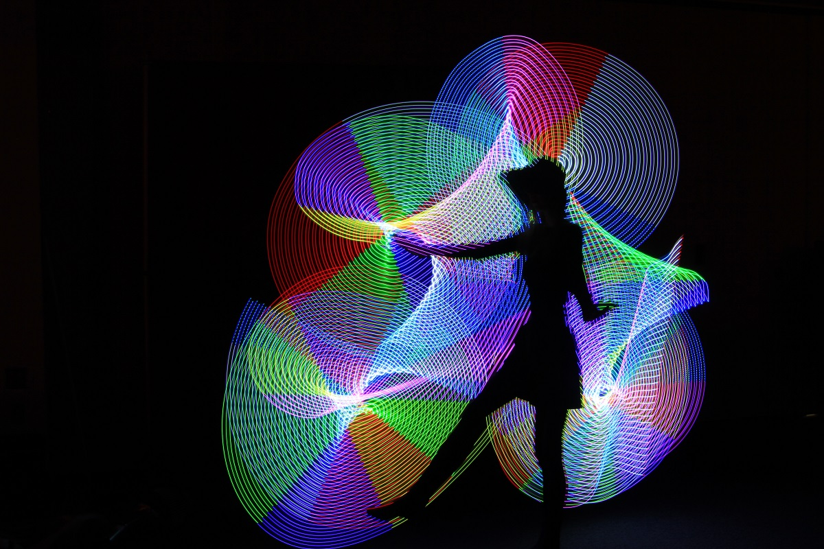 Light Painting - Digital(Silhouette) - Name Withheld Per Request