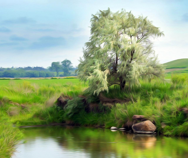 Dakotaland - Color Print (Open) - Larry Syverud
