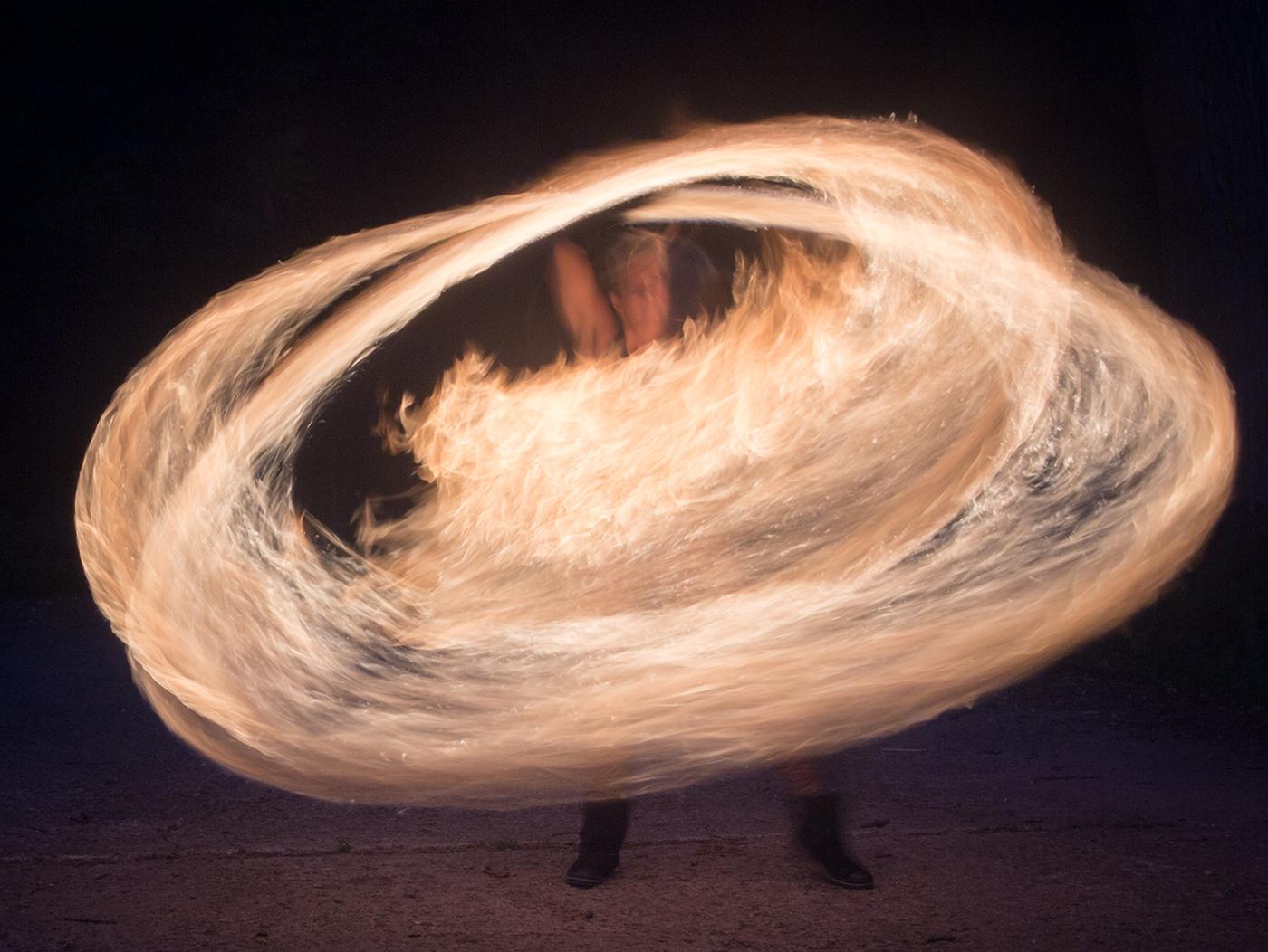 Fire Spiral - Digital (Action) - Bill Wesen