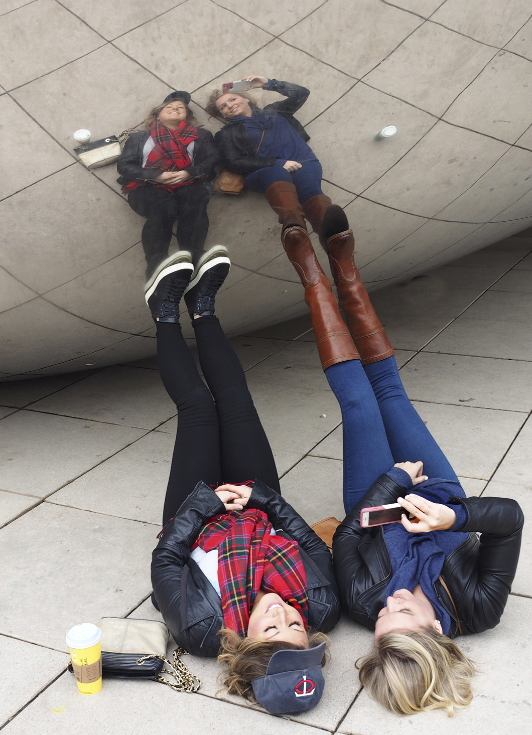 Reflections in the Bean - Color Print (Open) - Name Withheld Per Request
