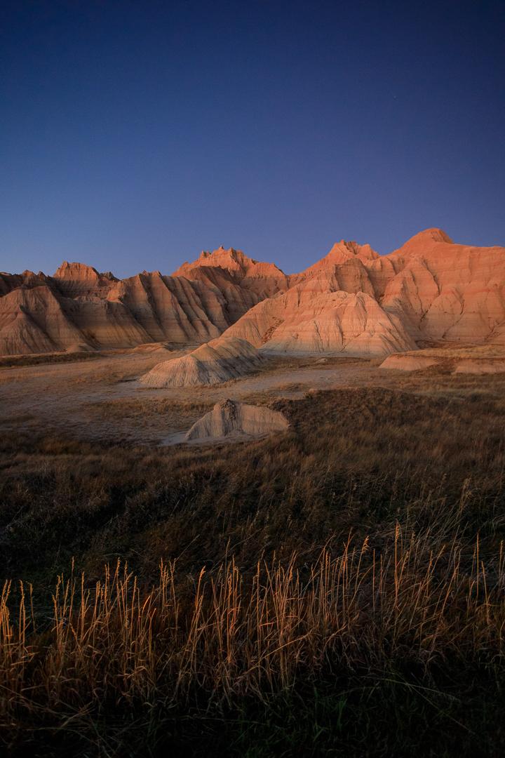 Badlands at Dusk - Color Print(Open) - Joe Schufman