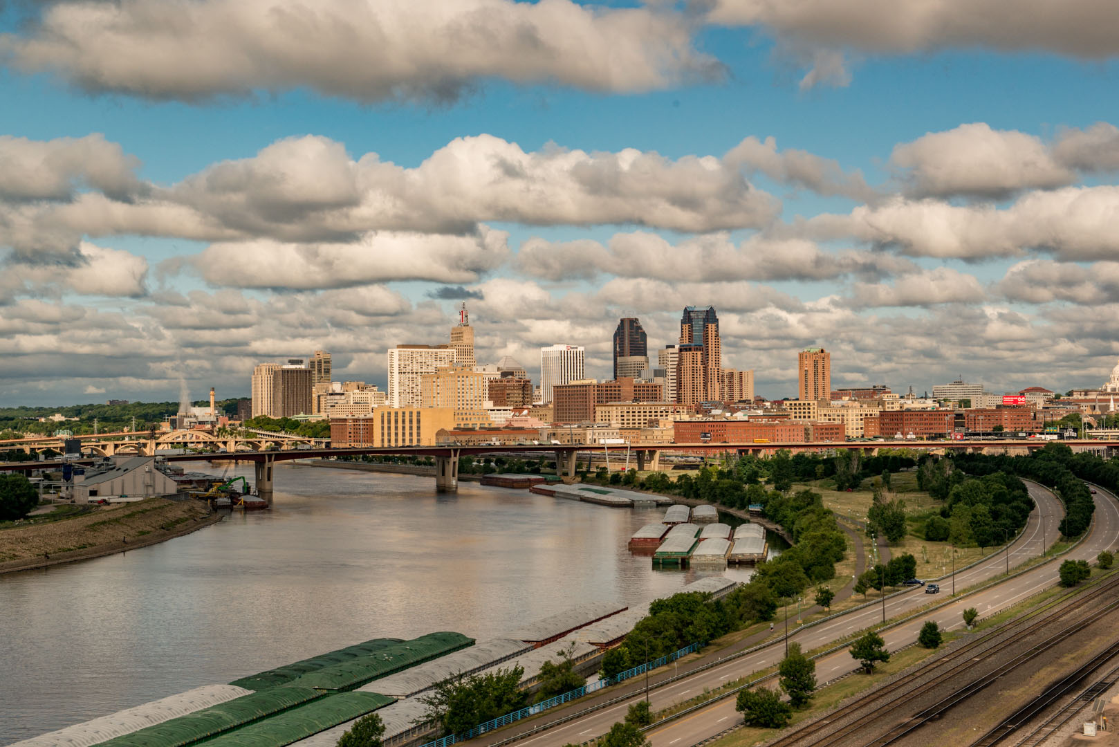 St. Paul on a Cloudy Morning - Color Print(Open) - Name Withheld Per Request
