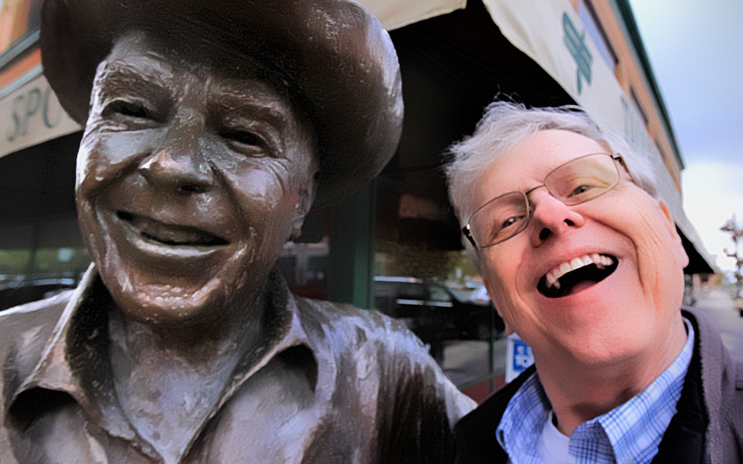 Ronnie and Me - Digital (Selfie) - Name Withheld Per Request
