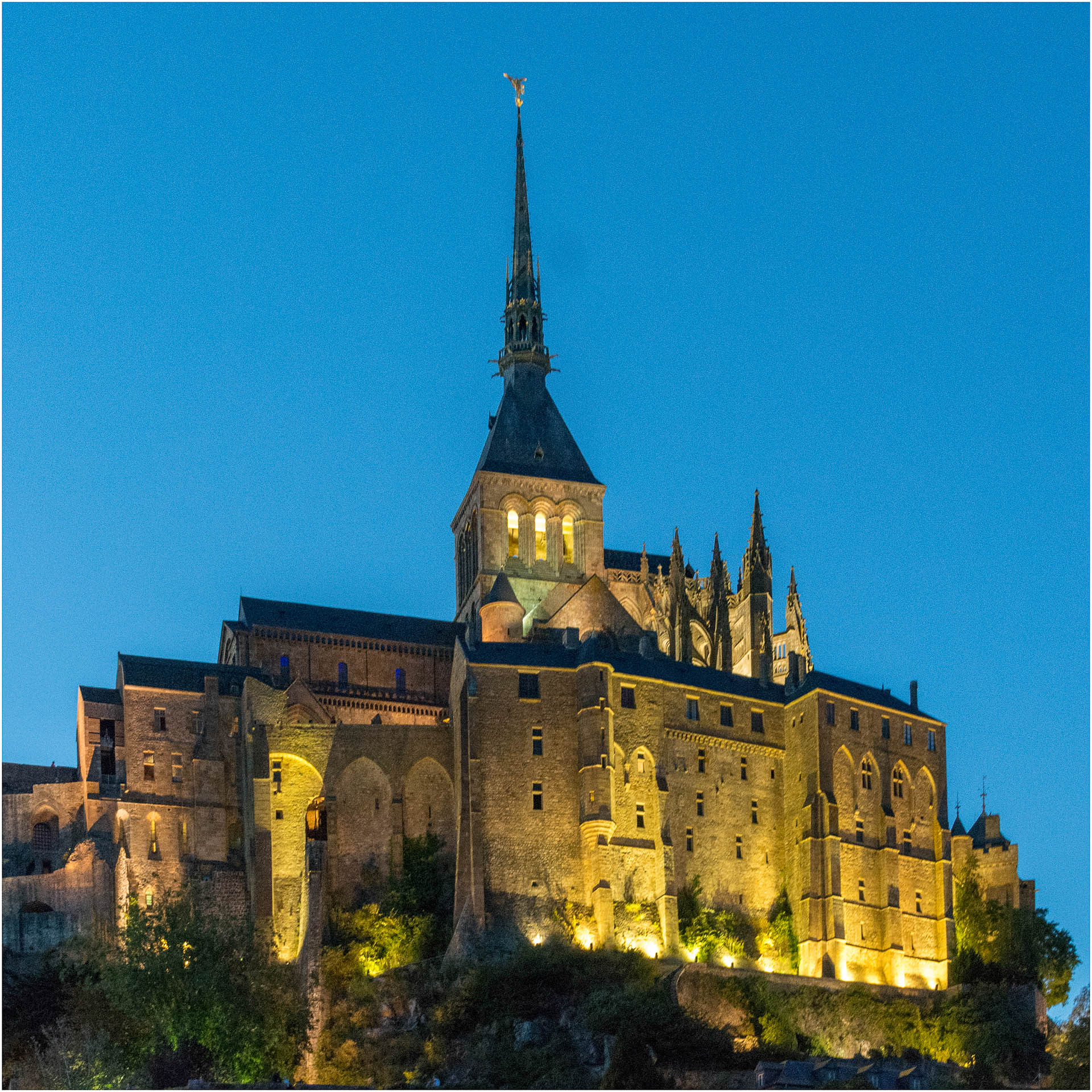 Mont Saint Michel Abbey - Digital (Artificial Light) - Name Withheld Per Request
