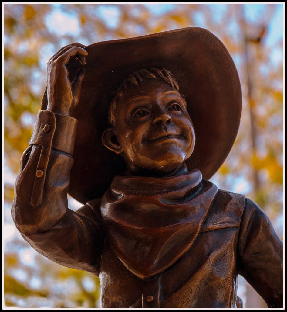 Cowgirl with Hat - Digital (Shallow Depth of Field) - Name Withheld Per Request